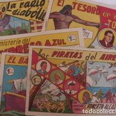 Tebeos: COLECCION COMPLETA ORIGINAL ROBERTO ALCAZAR Y PEDRIN. Lote 81190632
