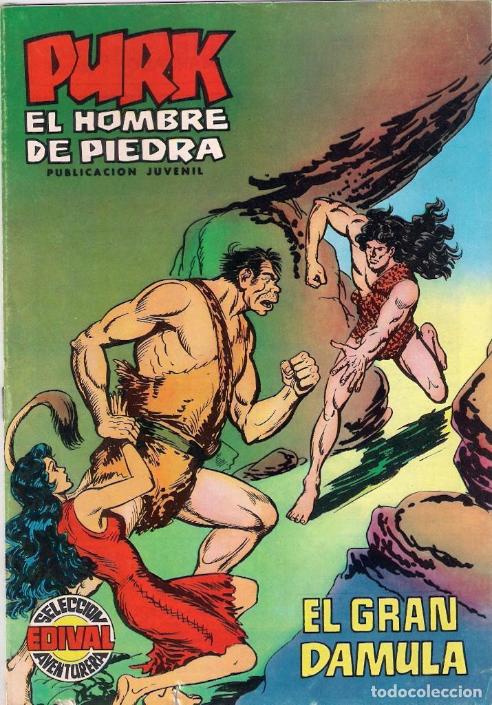 PURK, EL HOMBRE DE PIEDRA. COLOR. Nº 10 (Tebeos y Comics - Valenciana - Purk, el Hombre de Piedra)