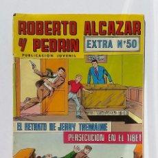 Tebeos: ROBERTO ALCAZAR Y PEDRIN EXTRA NÚMERO 50. EDITORIAL VALENCIANA.. Lote 82221404