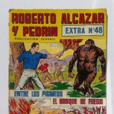 Tebeos: ROBERTO ALCAZAR Y PEDRIN EXTRA NÚMERO 48. EDITORIAL VALENCIANA.. Lote 82221496