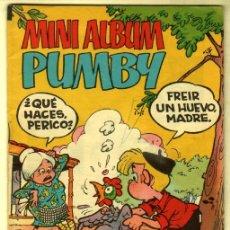 Tebeos: MINI ALBUM PUMBY Nº 12. Lote 82273500