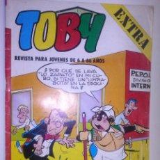 Tebeos: TOBY - Nº 12 -REVISTA PARA JÓVENES DE 6 A 66 AÑOS- AMBRÓS- ROJAS DE LA CÁMARA-1983-BUENO- RARO- 6155. Lote 97716639