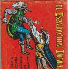Tebeos: EL ESPADACHIN ENMASCARADO 2ª EDICION TOMO 9 (Nº 33 AL 36). Lote 82874988