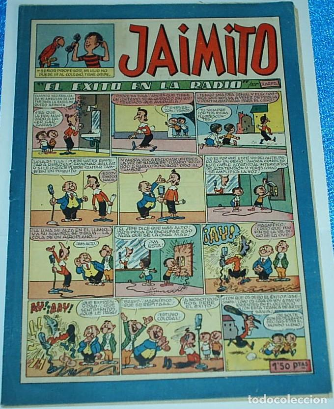 JAIMITO Nº 149 - ORIGINAL DE VALENCIANA 1945 - PERFECTO ESTADO (Tebeos y Comics - Valenciana - Jaimito)