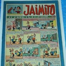 Tebeos: JAIMITO Nº 149 - ORIGINAL DE VALENCIANA 1945 - PERFECTO ESTADO. Lote 84353700