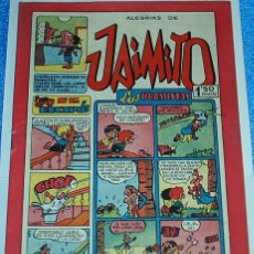 Tebeos: ALEGRIAS DE JAIMITO Nº 143 - ORIGINAL DE VALENCIANA 1945 - PERFECTO ESTADO- IMPORTANTE LEER TODO. Lote 84353840