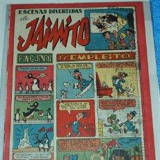 Tebeos: ESCENAS DIVERTIDAS DE JAIMITO Nº 137 - ORIGINAL DE VALENCIANA 1945 - BUEN ESTADO. Lote 84354832