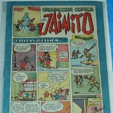 Tebeos: CALEFACCIÓN COMICA DE JAIMITO Nº 134-ORIGINAL DE VALENCIANA 1945 -BUEN ESTADO IMPORTANTE LEER TODO. Lote 84355084