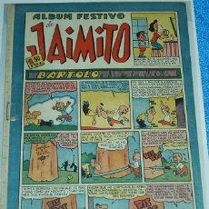 Tebeos: ALBUM FESTIVO DE JAIMITO Nº 132 - ORIGINAL DE VALENCIANA 1945 -IMPORTANTE LEER DESCRIPCION. Lote 84355328