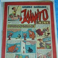 Tebeos: ALEGRES GANSADAS DE JAIMITO Nº 120 - ORIGINAL DE VALENCIANA 1945-IMPORTANTE LEER DESCRIPCION. Lote 84355812