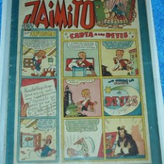 Tebeos: JUEGOS FESTIVOS DE JAIMITO Nº 105 - ORIGINAL DE VALENCIANA 1945 -BUEN ESTADO- LEER ENVIOS. Lote 84356260