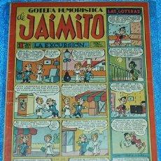 Tebeos: GOTERA HUMORISTICA DE JAIMITO Nº 85 - ORIGINAL DE VALENCIANA 1945 -. Lote 84357296