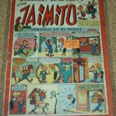 Tebeos: VACACIONES DIVERTIDAS DE JAIMITO Nº 69 - ORIGINAL DE VALENCIANA 1945 - PERFECTO IMPORTANTE VER ENVIO. Lote 84358032
