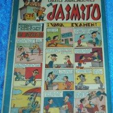 Tebeos: CHISTES SOBRESALIENTES DE JAIMITO Nº 66 - ORIGINAL DE VALENCIANA 1945 -IMPORTANTE LEER TODO. Lote 84358792