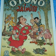 Tebeos: OTOÑO DE JAIMITO Nº 20 - ORIGINAL DE VALENCIANA 1945 - PERFECTO. Lote 84359492