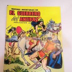 Tebeos: NUEVAS AVENTURAS DE EL GUERRERO DEL ANTIFAZ NUM 57 - ED. VALENCIANA - 1980. Lote 84565811