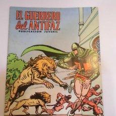 Tebeos: EL GUERRERO DEL ANTIFAZ SEG. EPOCA NUM 91 - ED. VALENCIANA - 1974. Lote 84565860