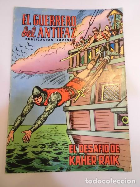 EL GUERRERO DEL ANTIFAZ SEG. EPOCA NUM 82 - ED. VALENCIANA - 1973 (Tebeos y Comics - Valenciana - Guerrero del Antifaz)