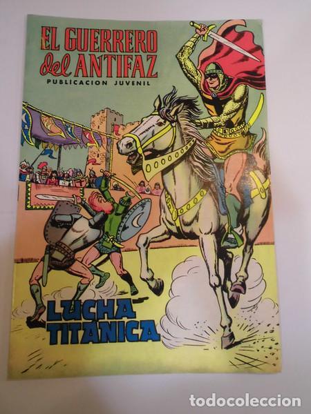 EL GUERRERO DEL ANTIFAZ SEG. EPOCA NUM 3 - ED. VALENCIANA - 1972 (Tebeos y Comics - Valenciana - Guerrero del Antifaz)