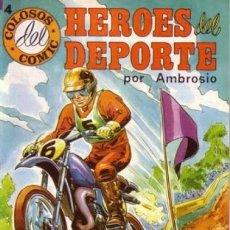 Tebeos: HÉROES DEL DEPORTE - Nº 4 - GRAN AMBRÓS- MEMORABLES HISTORIAS DE PEDRO QUESADA-FLAMANTE-1983-6271. Lote 84626164