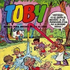 Tebeos: TOBY - Nº 21 -REVISTA PARA JÓVENES DE 6 A 66 AÑOS- AMBRÓS-BATTAGLIA-ROJAS-1983-BUENO-DIFÍCIL- 6278. Lote 97714063