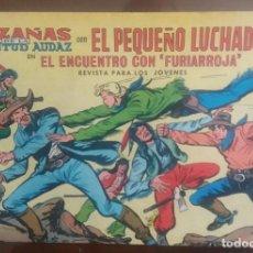 Tebeos: EL PEQUEÑO LUCHADOR 242. HAZAÑAS DE LA JUVENTUD AUDAD. ORIGINAL DE VALENCIANA. LITERACOMIC.. Lote 84718700