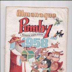 Tebeos: ALMANAQUE PUMBY 1958. Lote 85174232