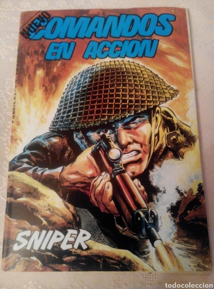 NUEVO COMANDOS EN ACCIÓN.N°1. 1982 (Tebeos y Comics - Valenciana - Otros)