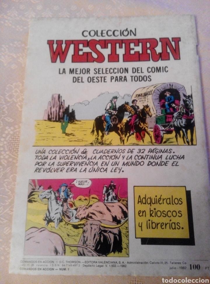 Tebeos: NUEVO COMANDOS EN ACCIÓN.N°1. 1982 - Foto 2 - 85249051
