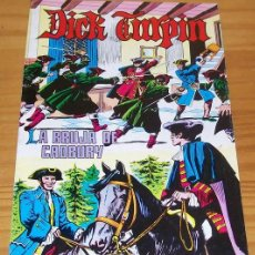 Giornalini: DICK TURPIN 4 LA BRUJA DE CADBURY. EDIVAL 1979. Lote 85312660