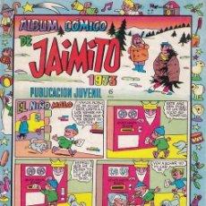 Tebeos: JAIMITO - ALBUM COMICO DE JAIMITO 1973 - EDITORIAL VALENCIANA. Lote 85397564