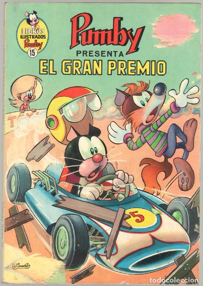 Tebeos: LIBROS ILUSTRADOS PUMBY Nº 15 EN MUY BUEN ESTADO - Foto 2 - 85464584