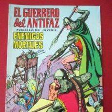 Tebeos: EL GUERRERO DEL ANTIFAZ Nº6 , VERTICAL, ED. VALENCIANA , EDIVAL 1972. Lote 85639931