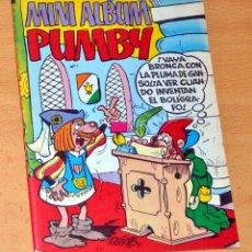Tebeos: MINI ALBUM PUMBY - Nº 11 - EDITORIAL VALENCIANA - EDITADO EN ESPAÑA - AÑO 1984. Lote 85841580