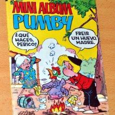 Tebeos: MINI ALBUM PUMBY - Nº 12 - EDITORIAL VALENCIANA - EDITADO EN ESPAÑA - AÑO 1984. Lote 85841792