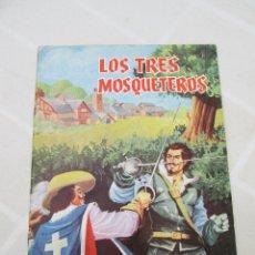 Tebeos: COMIC LOS TRES MOSQUETEROS DE ALEJANDRO DUMAS PADRE, 1976. Lote 86153316