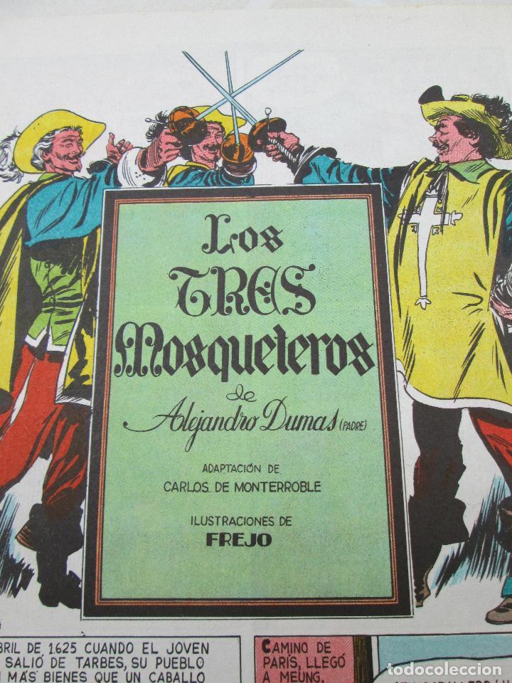 Tebeos: COMIC LOS TRES MOSQUETEROS DE ALEJANDRO DUMAS padre, 1976 - Foto 4 - 86153316