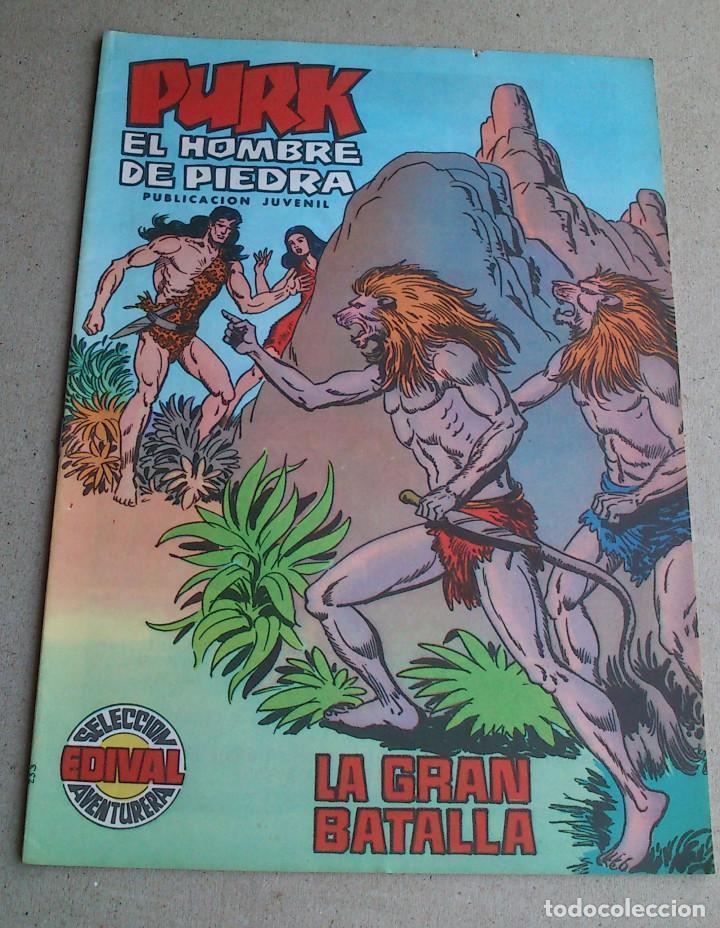 PURK EL HOMBRE DE PIEDRA Nº 29 - GAGO - EDIVAL - 1974 - NUEVO (Tebeos y Comics - Valenciana - Purk, el Hombre de Piedra)