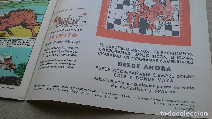 Tebeos: PURK EL HOMBRE DE PIEDRA Nº 29 - GAGO - EDIVAL - 1974 - NUEVO - Foto 4 - 86243516