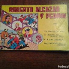 Tebeos: ROBERTO ALCAZAR Y PEDRIN TOMO 1 - REEDICION - BUEN ESTADO. Lote 86381924