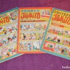 Tebeos: LOTE 3 TEBEOS - SELECCIONES JAIMITO - 64, 65, 66 - VALENCIANA - MUY ANTIGUOS - ¡HAZME OFERTA! - L01. Lote 86394980