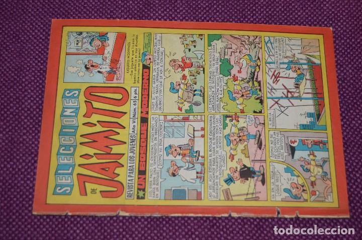 Tebeos: LOTE 3 TEBEOS - SELECCIONES JAIMITO - 64, 65, 66 - VALENCIANA - MUY ANTIGUOS - ¡HAZME OFERTA! - L01 - Foto 5 - 86394980