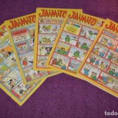 Tebeos: LOTE 5 TEBEOS - JAIMITO - 733, 739, 741, 742, 744 - VALENCIANA - MUY ANTIGUOS - ¡HAZME OFERTA! - L03. Lote 86395220