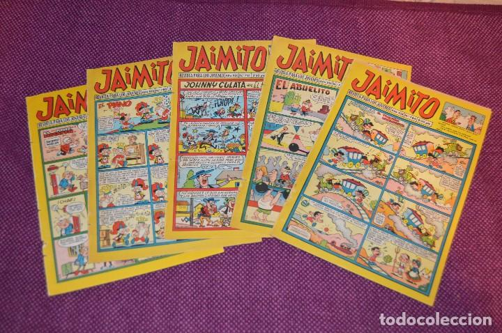 LOTE 5 TEBEOS - JAIMITO - 774, 780, 781, 783, 784 - VALENCIANA - MUY ANTIGUOS - ¡HAZME OFERTA! - L05 (Tebeos y Comics - Valenciana - Jaimito)