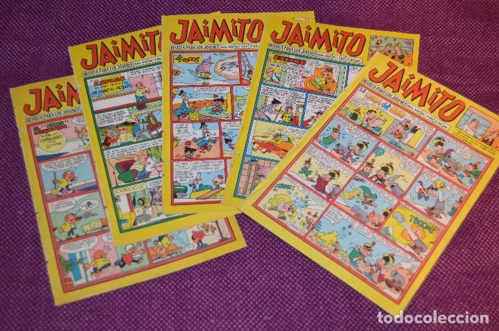 LOTE 5 TEBEOS - JAIMITO - 785, 786, 787, 788, 790 - VALENCIANA - MUY ANTIGUOS - ¡HAZME OFERTA! - L06 (Tebeos y Comics - Valenciana - Jaimito)