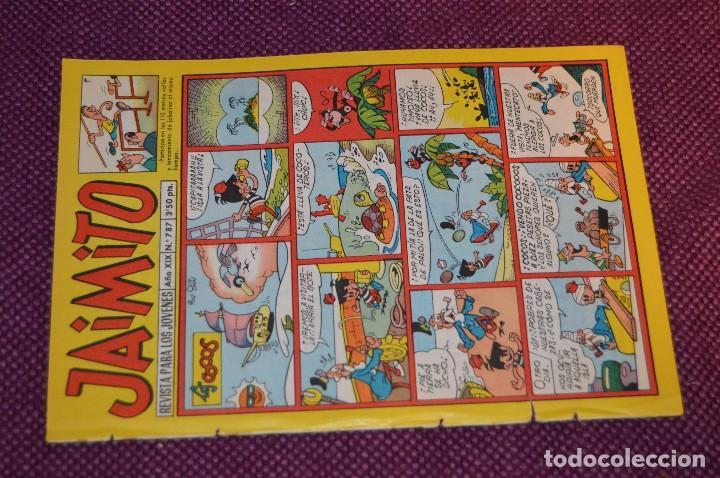 Tebeos: LOTE 5 TEBEOS - JAIMITO - 785, 786, 787, 788, 790 - VALENCIANA - MUY ANTIGUOS - ¡HAZME OFERTA! - L06 - Foto 8 - 86395484