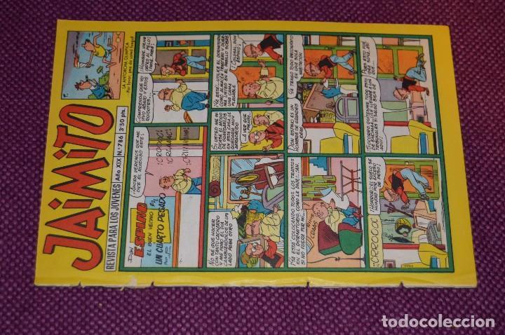 Tebeos: LOTE 5 TEBEOS - JAIMITO - 785, 786, 787, 788, 790 - VALENCIANA - MUY ANTIGUOS - ¡HAZME OFERTA! - L06 - Foto 11 - 86395484