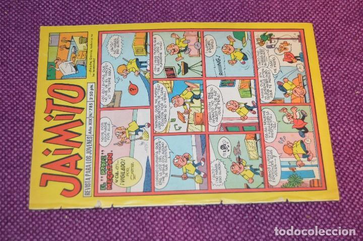 Tebeos: LOTE 5 TEBEOS - JAIMITO - 785, 786, 787, 788, 790 - VALENCIANA - MUY ANTIGUOS - ¡HAZME OFERTA! - L06 - Foto 14 - 86395484