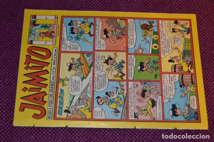 Tebeos: LOTE 5 TEBEOS - JAIMITO - 800, 801, 802, 803, 804 - VALENCIANA - MUY ANTIGUOS - ¡HAZME OFERTA! - L08 - Foto 5 - 86395664