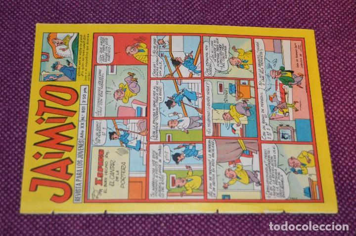 Tebeos: LOTE 5 TEBEOS - JAIMITO - 800, 801, 802, 803, 804 - VALENCIANA - MUY ANTIGUOS - ¡HAZME OFERTA! - L08 - Foto 11 - 86395664
